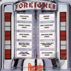 Foreigner - Records CD Cover Art
