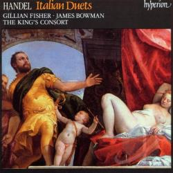 Handel - Handel: Italian Duets / Fisher, Bowman, King's Consort CD Cover Art