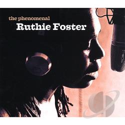 Foster, Ruthie - Phenomenal Ruthie Foster CD Cover Art