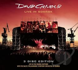 Gilmour, David - Live In Gdansk CD Cover Art