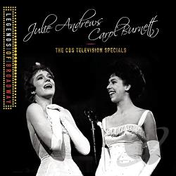 Andrews, Julie / Burnett, Carol - CBS Television Specials: Live At Carnegie Hall/Live At Lincoln Center CD Cover Art