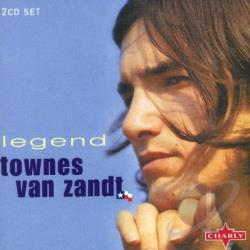 Van Zandt, Townes - Legend: The Very Best Of Townes Zandt Van CD Cover Art
