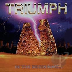 Triumph - In the Beginning... CD Cover Art