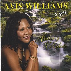 Avis Williams - Healing Melodies CD Cover Art