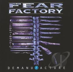 Fear Factory - Demanufacture CD Cover Art