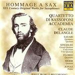 Quartetto Di Sassofo - Hommage A Sax-19th Century Original CD Cover Art