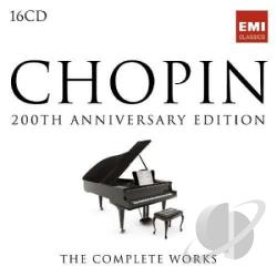 Complete Chopin Edition - Chopin: 200th Anniversary Edition CD Cover Art