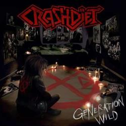 Crashdiet - Generation Wild CD Cover Art