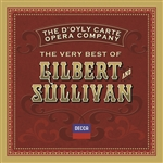 D'Oyly Carte Opera Company - Very Best of Gilbert & Sullivan CD Cover Art