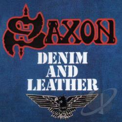 Saxon - Denim And Leather CD Cover Art