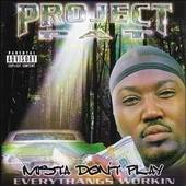 Project Pat - Mista Don't Play CD Cover Art
