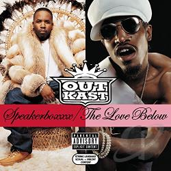 Outkast - Speakerboxxx/ The Love Below CD Cover Art