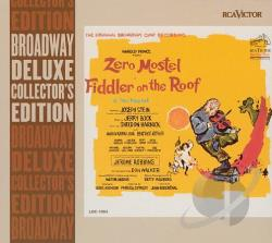 1984 Original Cast - Fiddler On The Roof CD Cover Art