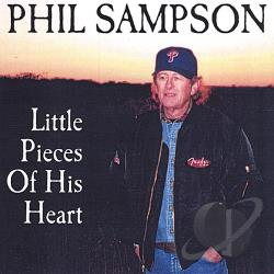 Sampson, Phil - Little Pieces of His Heart CD Cover Art