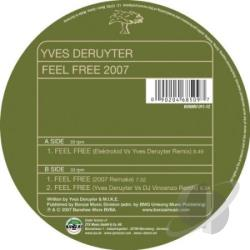 Deruyter, Yves - Feel Free 2007 LP Cover Art