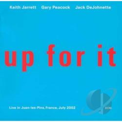 Jarrett, Keith - Up For It CD Cover Art