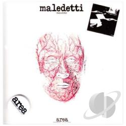 Area - Maledetti CD Cover Art