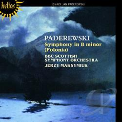 BBC Scottish So / Maksymiuk / Paderewski - Ignacy Jan Paderewski: Symphony in B minor Polonia CD Cover Art