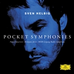 Faure Quartett / Jarvi / MDR Leipzig Radio Sym - Helbig: Pocket Symphonies CD Cover Art