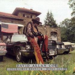 Coe, David Allan - Longhaired Redneck/Rides Again CD Cover Art