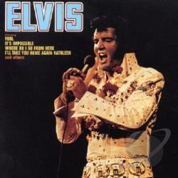 Presley, Elvis - Elvis CD Cover Art