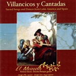 Carrettin / Ellis / Lane / Mundo / Savino - Villancicos y Cantadas CD Cover Art