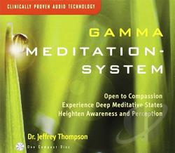 Jeffrey D. Thompson - Gamma Meditation System CD Cover Art
