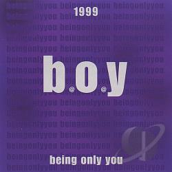 Being Only You - 1999 CD Cover Art