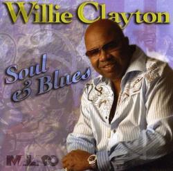 Clayton, Willie - Soul and Blues CD Cover Art