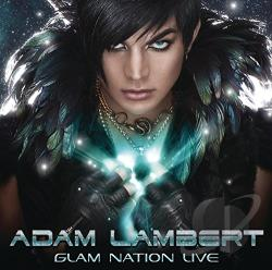 Lambert, Adam - Glam Nation Live CD Cover Art