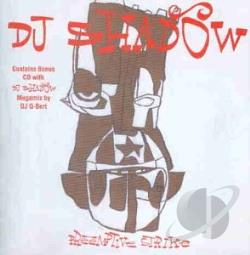 DJ Shadow - Preemptive Strike CD Cover Art