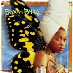 Badu, Erykah - Live CD Cover Art