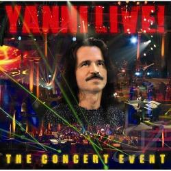 Yanni - Live: The Concert Event CD Cover Art