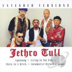 Jethro Tull - Extended Versions CD Cover Art