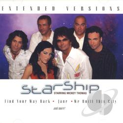 Starship - Extended Versions CD Cover Art