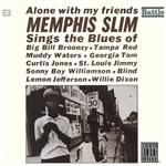 Memphis Slim - Alone With My Friends CD Cover Art