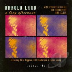 Land, Harold - Lazy Afternoon CD Cover Art