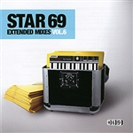 Star 69 Extended Mixes, Vol. 6 CD Cover Art