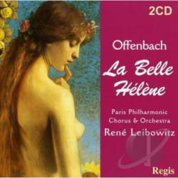 Offenbach, J. - La Belle Helene CD Cover Art