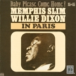 Dixon, Willie / Memphis Slim - Memphis Slim & Willie Dixon in Paris CD Cover Art