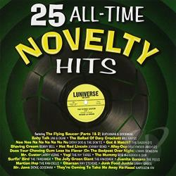 25 All-Time Novelty Hits CD Cover Art