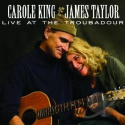 King, Carole / Taylor, James - Live at the Troubadour CD Cover Art