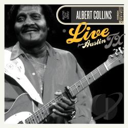 Collins, Albert - Live from Austin, TX CD Cover Art