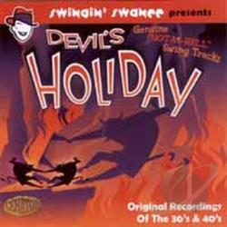 Swingin' Swanee Presents Devil's Holiday Geniune Hot As Hell Swing Tracks CD Cover Art