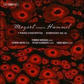 Benyi / Clemente / Mozart / Shiraga / Wiese - Mozart Arranged by Hummel CD Cover Art