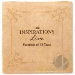 Inspirations - Live: Favorites of 45 Years CD Cover Art