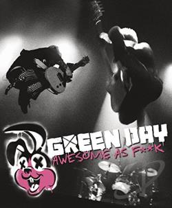 Green Day - Awesome as F**k CD Cover Art