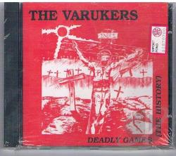 Varukers - Deadly Games: History CD Cover Art
