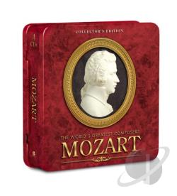 Mozart, Wolfgang Amadeus - World's Greatest Composers: Mozart CD Cover Art