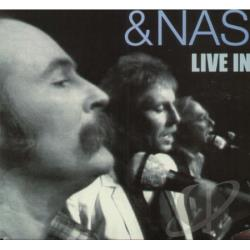 Crosby, Stills, and Nash - Live In L.A. LP Cover Art
